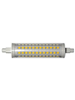 LED-R7S, 230V, 10.0Watt, 1100Lumen=75Watt, Länge =118mm, dimmbar, warmweiss